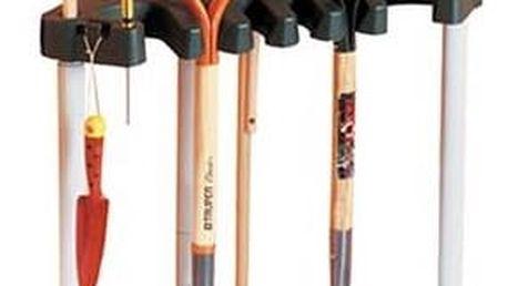 Držák Keter Corner tool rack černý