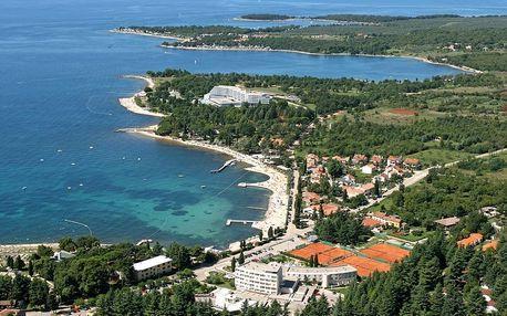 Chorvatsko - Istrie na 8 až 10 dní, all inclusive s dopravou vlastní nebo autobusem