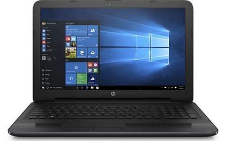 """Notebook HP 255 G5 (X0P90EA#BCM) černý AMD E2 -7110, 4GB, 128GB, 15.6"""", HD, DVD±R/RW, AMD Radeon R2, BT, CAM, W10"""