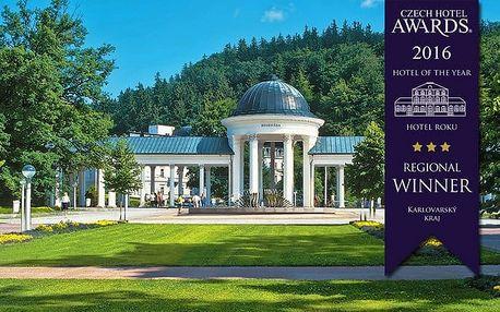 3–6denní pobyt s polopenzí a možností wellness pro 2 osoby v hotelu Pelikán v Mariánkách