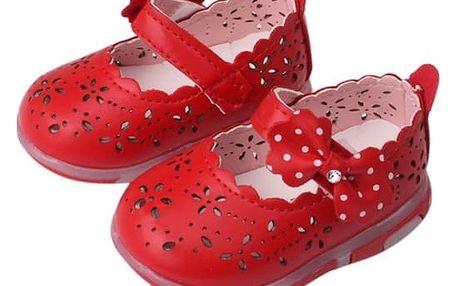 Letní botičky pro malé princezny - 3 barvy