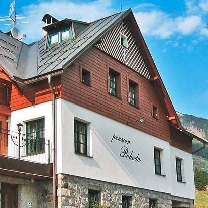 Dovolená s polopenzí i saunou ve Špindlu