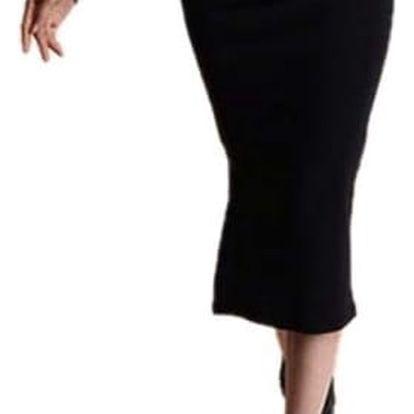 Dlouhá sukně SLIM se sexy rozparkem - 6 barev