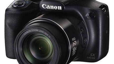 Digitální fotoaparát Canon PowerShot SX540 HS černý + Doprava zdarma