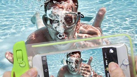 Vodotěsné pouzdro nejen na mobil.