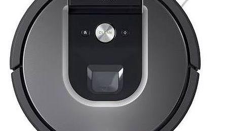 Vysavač robotický iRobot Roomba 960 černý/stříbrný + Doprava zdarma