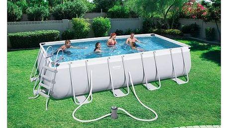 Bazén Bestway Steel Frame Pool 488 x 274 x 122 cm + Doprava zdarma