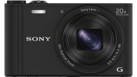 Sony CyberShot DSC-WX350 černý