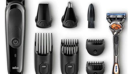 Zastřihovač vousů Braun MGK3060 černý