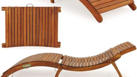 Dřevěné lehátko Dekorhome