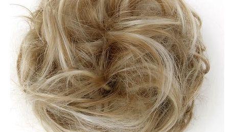 Gumička do vlasů s umělými vlasy