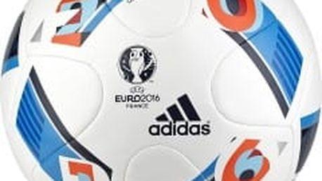 Fotbalový míč adidas EURO16 TOPGLI 4 WHITE/BRIGHBLUE/NGTINDIGO