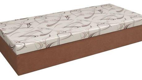 Čalouněná postel jan, 195/39/85 cm