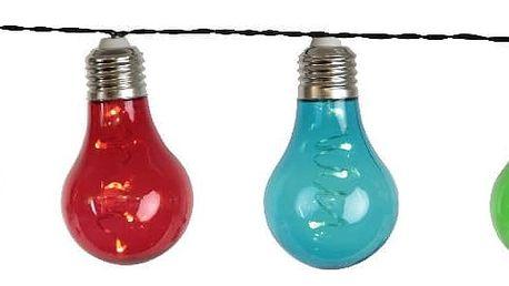 Světelný LED řetěz Best Season Dura, 10 světýlek
