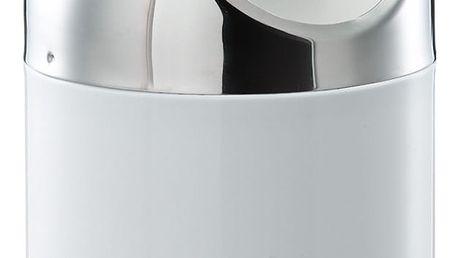 Bílý kosmetický odpadkový koš Zeller