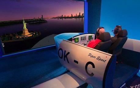 Vzhůru do oblak: let na simulátoru