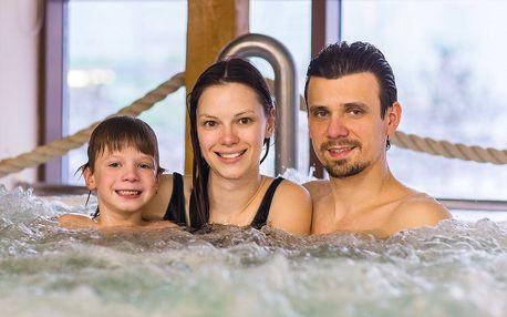 4* rodinná pohoda s plnou penzí a wellness