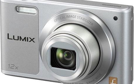 Panasonic Lumix DMC-SZ10, stříbrná - DMC-SZ10EP-S