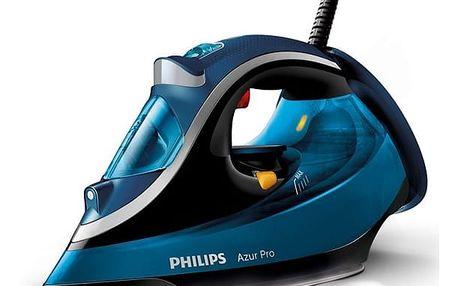 Žehlička Philips Azur Pro GC4881/20 modrá + DOPRAVA ZDARMA