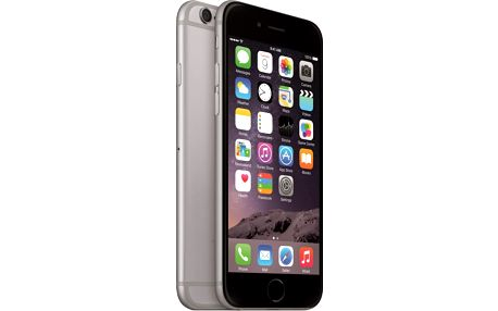 Apple iPhone 6 32GB, šedá + Zdarma GSM pouzdro CELLY Frost pro Apple iPhone 6/6S, 0,29 mm, černá (v ceně 249,-)