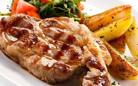 Mix steaků pro dva v restauraci U Švejka
