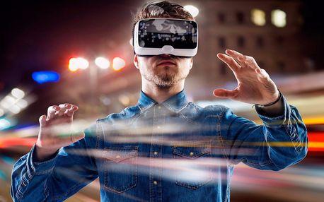 Hodinka plná her ve světě virtuální reality