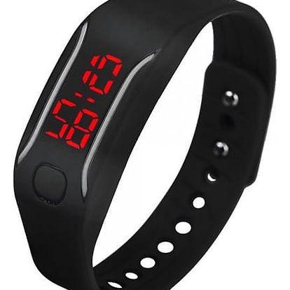 Digitální silikonové hodinky pro sportovní nadšence - dodání do 2 dnů