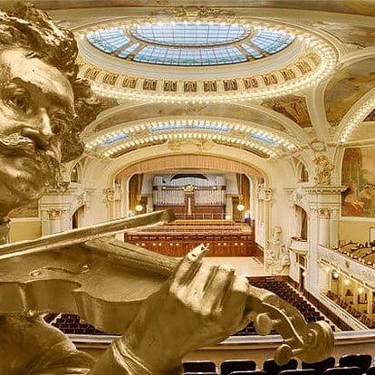 Vstupenka na galakoncert skladeb Johanna Strausse s baletem v Obecním domě v Praze
