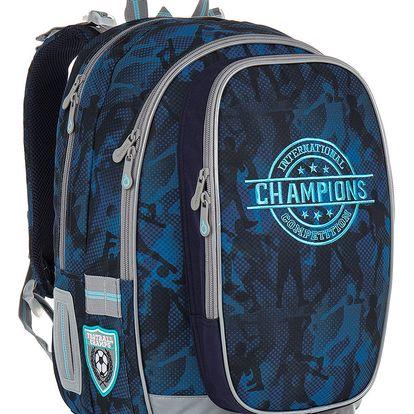 Školní batoh Topgal CHI 881 D - Blue