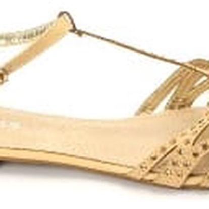 Letní dámské sandálky BLESS béžové