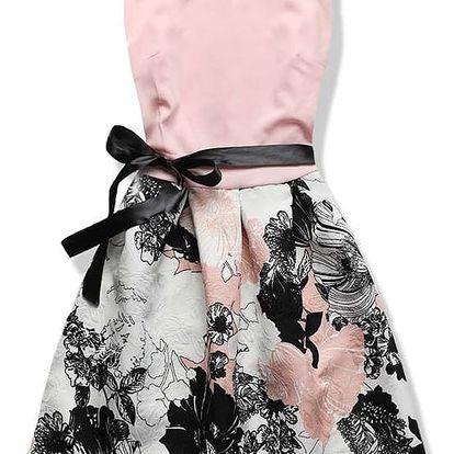 Dámské šaty Dancing růžové