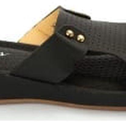 Dámské pantofle BLESS s ANTISHOKOVOU stélkou černé