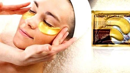 Maska na oči proti vráskám s 24-karátovým zlatem. Vaše pleť je po každé návštěvě kosmetického salonu plná energie a září čistotou a zdravím.Dopřejte vaší pleti stejnou péči i u vás doma za zlomek peněz.