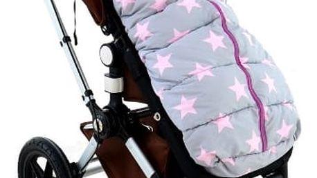 Kvalitní dětský spací pytel růžový