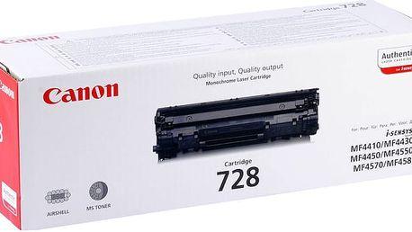 Canon CRG-728, černý - 3500B002