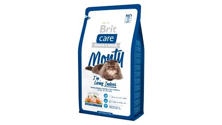 Granule Brit Care Cat Monty I´m Living Indoor 2 kg