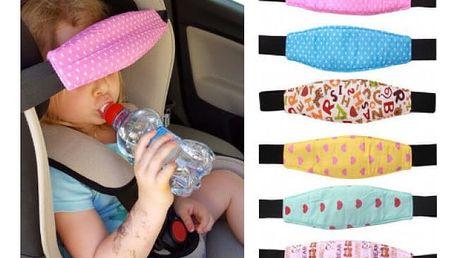Opěrka hlavy do dětské autosedačky