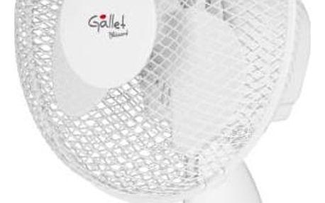 Ventilátor stolní Gallet VEN9 bílý