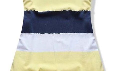 Dámské šaty Coloris žluté