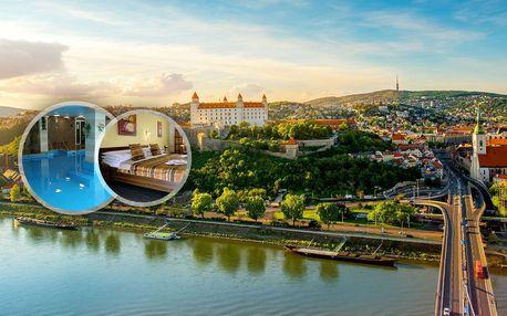 Pobyt pro dva nebo celou rodinu v Hotelu Barónka **** Bratislava