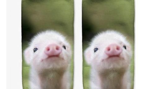 Dámské ponožky s roztomilými zvířátky - dodání do 2 dnů