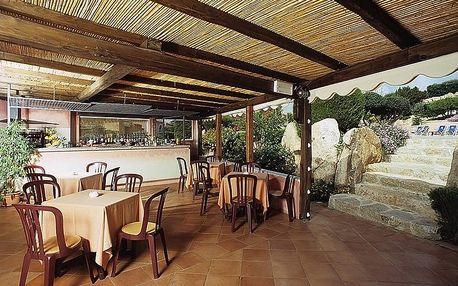 Itálie - Sardinie / Sardegna na 8 dní, polopenze nebo snídaně s dopravou vlastní