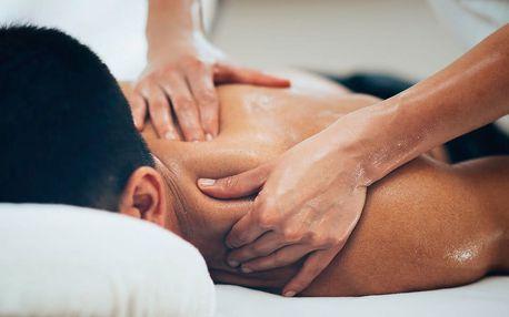60minutová masáž odstraňující bolesti zad a hlavy