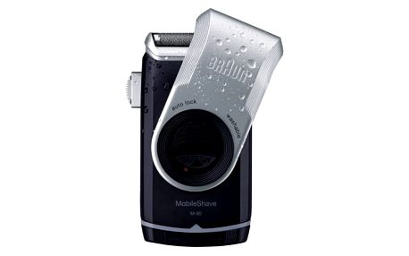 Braun battery M 90 černý/stříbrný