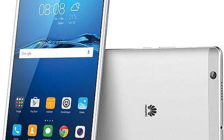 Huawei M3 - 32GB, stříbrná - TA-M384W32SOM + Zdarma GSM reproduktor Accent Funky Sound, červená (v ceně 299,-)
