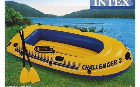 Intex Intex Challenger 2 set nafukovací člun - dle obrázku