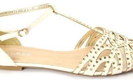 Letní dámské sandálky BLESS bílé