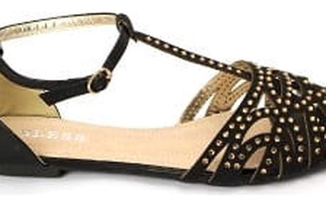 Letní dámské sandálky BLESS černé