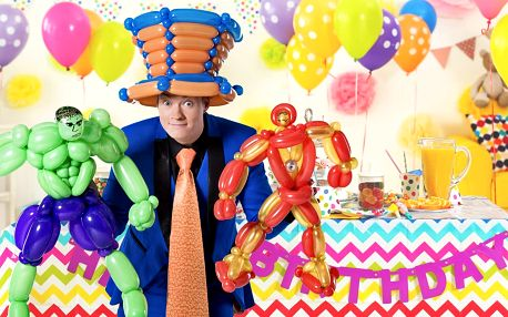 Pan Kravata: zábavná show na oslavu vašich dětí