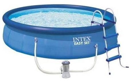 Bazén Intex Easy Set 4,57x1,07 m, kartušová filtrace 3,8 m3/h + Doprava zdarma